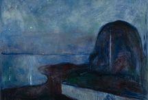 Hopper-Munch-Porter-Burchfield / by Lin Wollen