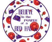 I love being a red hatter / by Donna Adams
