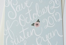 invites/paper goods / by Tabitha Bray