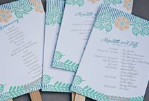 Wedding Programs / by Kate Kirschner