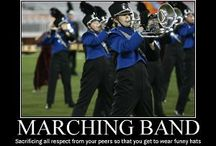 Marching Band / This one time, at band camp... I found some really cool marching band memes! / by West Music