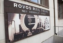 Rovos Rail: We know because we go / Go2Africans Ashley, Kelly-Anne, Bronwyn, Jehan, Emma and Hazel toured the Pride of Africa with Rovos Rail before it departed Cape Town Station on its scenic journey through South Africa to Capital Park Station in Pretoria! / by Go2Africa
