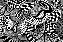 Zentangles/Patterns / by Sharie O. Burris