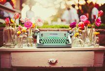 Coastin' Vintage Typewriters Spell Charm / by Coastin' with Donna Bozza