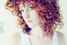 (curly) hair inspirations / I have naturally curly hair, I love naturally curly hair of all types, and there needs to be more tutorials on how to style it, seriously. When I find something cute or useful, I pin it. / by Elizabeth Smith