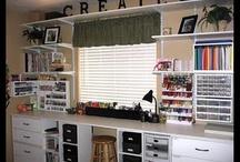 Craft Room / by Merrilee Kock