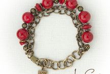 Lady in Red/Vintage Arizona/Rustic Romance / handmade artisan jewelry. / by JonCar Jewelry