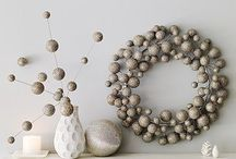 Modern Holiday Decor / I hate traditional holiday decor.  I love these alternative options. / by Corrie Feld