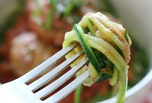Zoodles Zucchini Noodles / What are Zoodles? Healthy zucchini noodles or squash noodles that's low carb and delicious. You won't miss the pasta.    / by Todd & Diane (White On Rice Couple)