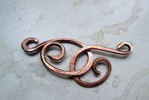 Copper/Metal wraps / by Maria Gosetto