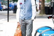 Male Fashion Icons / Who's your style icon? Share your favourite fashion A lister here! / by Jon Barrie