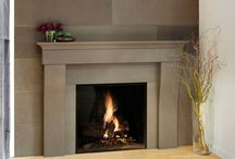 fireplaces / by Denise Burrow