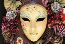 Masks Antifaces / by MadameBarocle