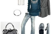 My skinny clothes!  / by Tina Layton Smith