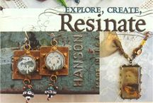 resin jewelry / by lori nelson