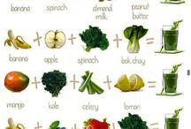 Healthy Drinks / recipes for the Nutribullet / by Terri Caldwell