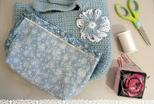 Knit and Crochet Bags and Baskets / Market bags, totes, purses - any kind of bag; and any size or shape basket / by Melayla O