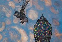 Hot Air Balloons / by Bela Hafner