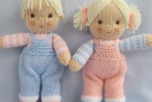Dolls knit and crochet / by Veronica Smith