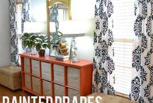 DIY drapes / by Jennifer Lutz