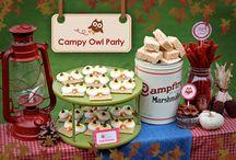Campsite Birthday Idea's ~ games, food, decor'. / by Necia Shelton