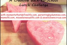 Back to School Lunch Ideas / by DudeMom
