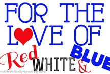 All things Red, white and Blue! / All things patriotic! / by Debbiedoo's