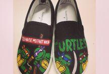 ninja turtle ideas / by Regina