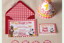 Barnyard party inspiration / by Ivona Sugarsticks Parties