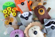 finger puppets / by Sue van der Westhuizen