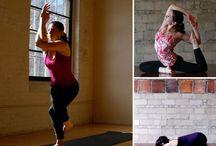 yoga/ fitness / by Jennifer Pyles Taylor
