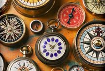 Clocks and Compasses  / by Sugar's Kitschen