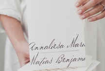 allie's wedding invitations / by samantha @ the stroller coaster