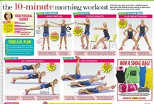 """""""I Work Out"""" ~ LMFAO / Things related to getting fit and staying healthy. / by Christa Williams"""