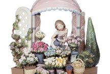 Figurines / Porcelain / by Cecilia Del Panta