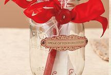 Mason Jars ~ Seasons ~ Fall & Thanksgiving  / by Linda S