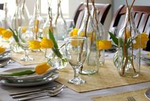 Table/Place settings & Centerpieces / by Ruth Lutz