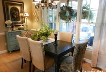 Dining room / by Candice Rosin
