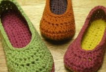 Crochet - hats, slippers, sweaters / by Kathy Johnson