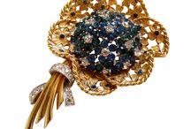 Designer Signed Jewelry / by Rhinestones Past