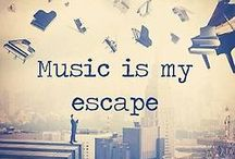 Music... My Life's Story / Music is my escape... where I can be with my most intimate self...  / by Nina Trott