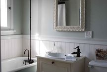 Redone bathrooms / by Shelly Noble