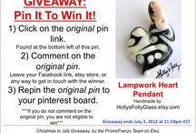 AWESOME GIVE AWAY CONTESTS!! / by Bill Guest