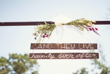wedding bliss / by Emily Rumble