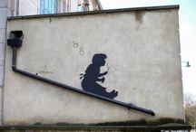 Street art and stumblings / by Dina
