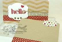 Stampin' Up! ® - Envelope Punch Board / by Rochelle Blok, Independent Stampin'  Up! Demonstrator