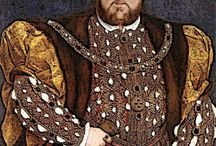 """Henry the VIII """"Off With Her Head!""""..... / HenryVlll, his 6 wives, and children       PLEASE DO NOT POWER PIN this board or I will BLOCK you / by Linda in Va."""