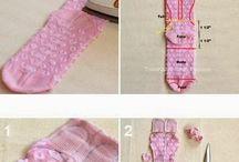 Sock crafts / by Jenna Z