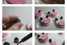 Cupcake Gum-paste / Fondant Topper Ideas and Tutorials / by Tanya Rystwej