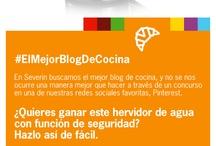 El Mejor Blog de Cocina / Buscamos el mejor blog de cocina, ¿Nos ayudas a encontrarlo? / by Severin España